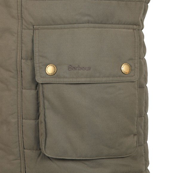 Barbour Countrywear Mens Green Bradford Gilet main image