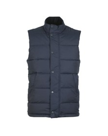 Barbour Lifestyle Mens Blue Mellor Gilet