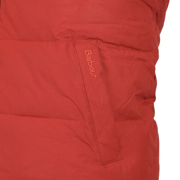 Barbour Lifestyle Mens Red Mellor Gilet
