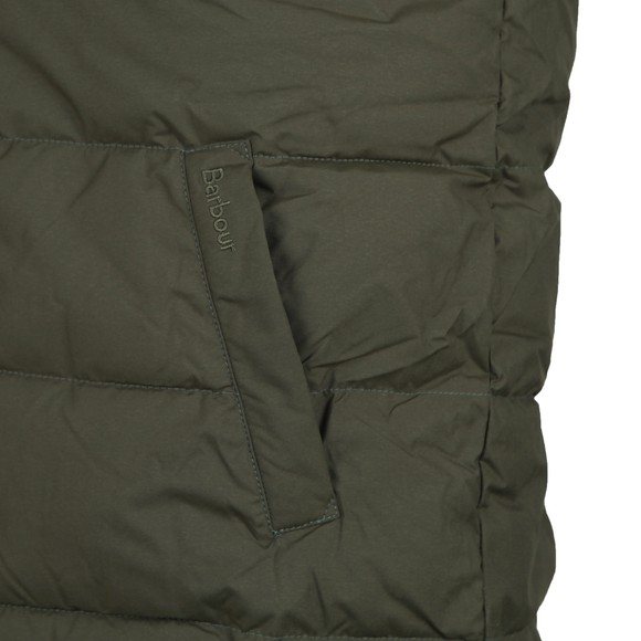 Barbour Lifestyle Mens Green Mellor Gilet main image
