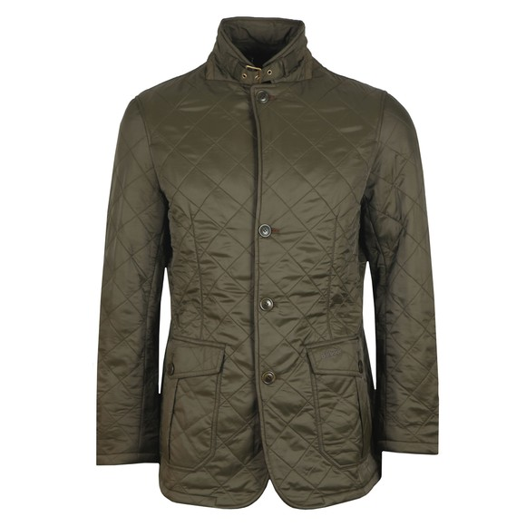 Barbour Lifestyle Mens Green Doister Polarquilt