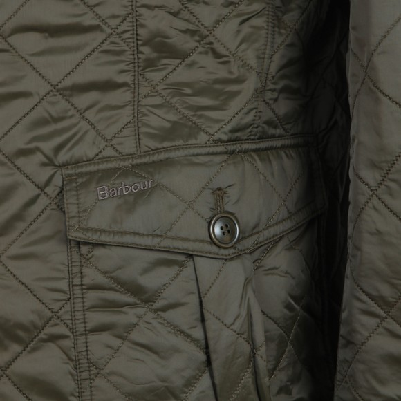 Barbour Lifestyle Mens Green Doister Polarquilt main image