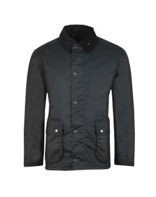 Barbour Lifestyle Mens Blue Strathyre Wax Jacket
