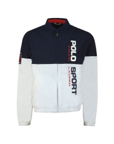 Polo Ralph Lauren Sport Mens White Panelled Jacket