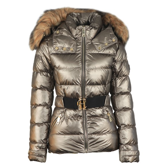 Holland Cooper Womens Brown Aspen Jacket main image