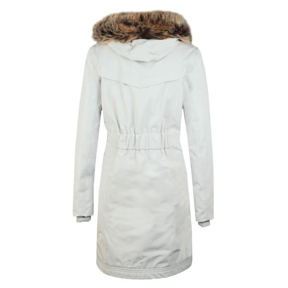 Barbour Lifestyle Womens White Mast Jacket main image