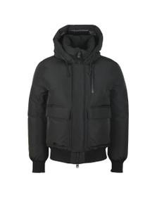 Mackage Mens Black Nathan Bomber Jacket