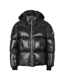 Mackage Mens Black Kent Hooded Down Jacket