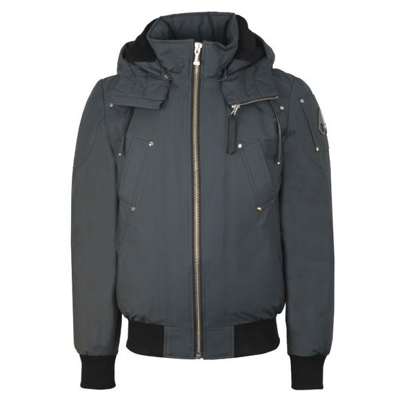 Moose Knuckles Mens Grey Beincourt Bomber Jacket