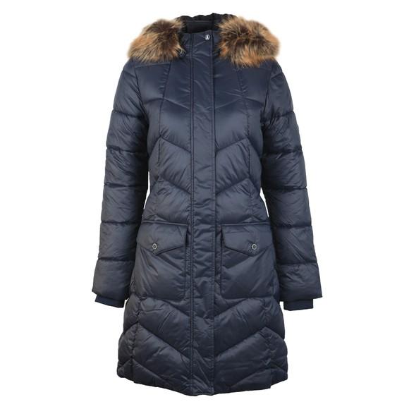 Barbour Lifestyle Womens Blue Clam Quilt Jacket main image