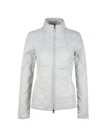 Barbour Lifestyle Womens White Backstay Quilt Jacket