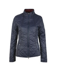 Barbour Lifestyle Womens Blue Backstay Quilt Jacket