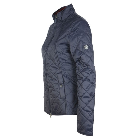 Barbour Lifestyle Womens Blue Backstay Quilt Jacket main image