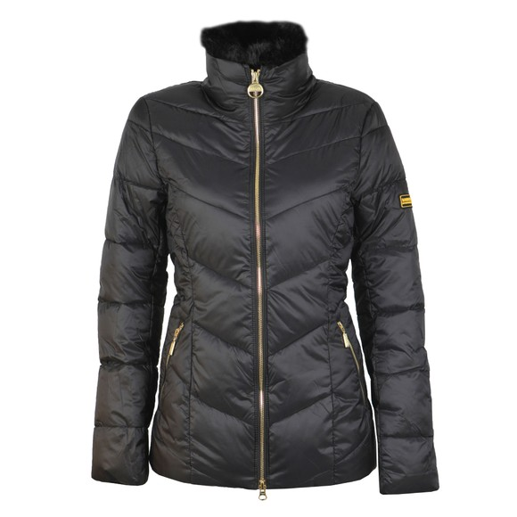 Barbour International Womens Black Nurburg Quilt Jacket main image