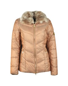 Barbour International Womens Gold Nurburg Quilt Jacket