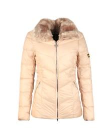 Barbour International Womens White Nurburg Quilt Jacket
