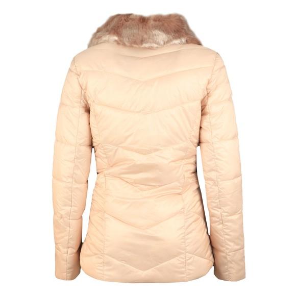 Barbour International Womens White Nurburg Quilt Jacket main image