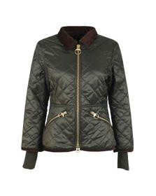 Barbour Icons Womens Green Liddlesdale Quilted Jacket