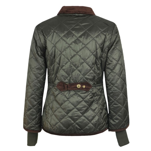 Barbour Icons Womens Green Liddlesdale Quilted Jacket main image