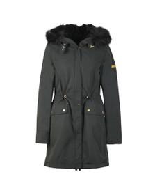 Barbour International Womens Black Clutch Jacket
