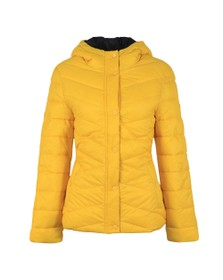 Barbour Lifestyle Womens Yellow Hawse Quilt Jacket