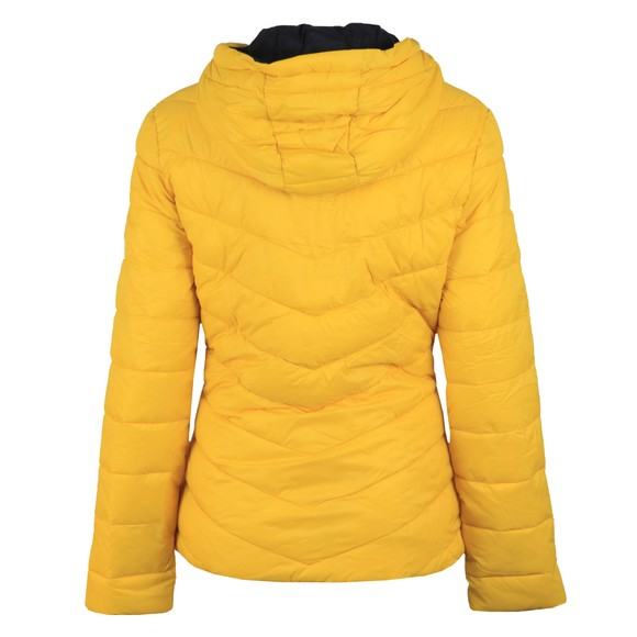 Barbour Lifestyle Womens Yellow Hawse Quilt Jacket main image