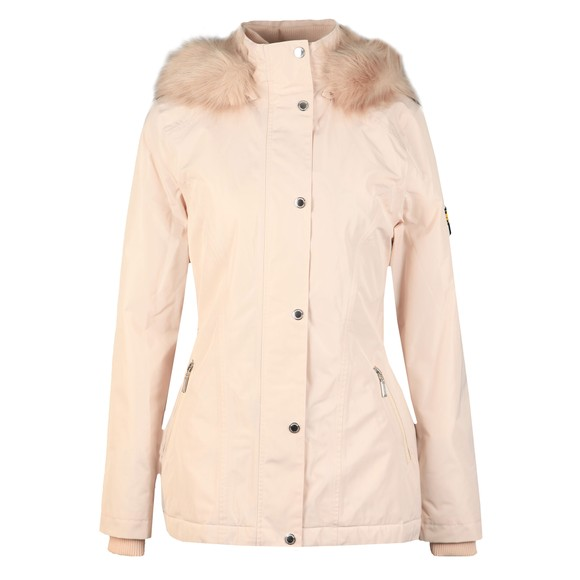 Barbour International Womens White Beemer Jacket