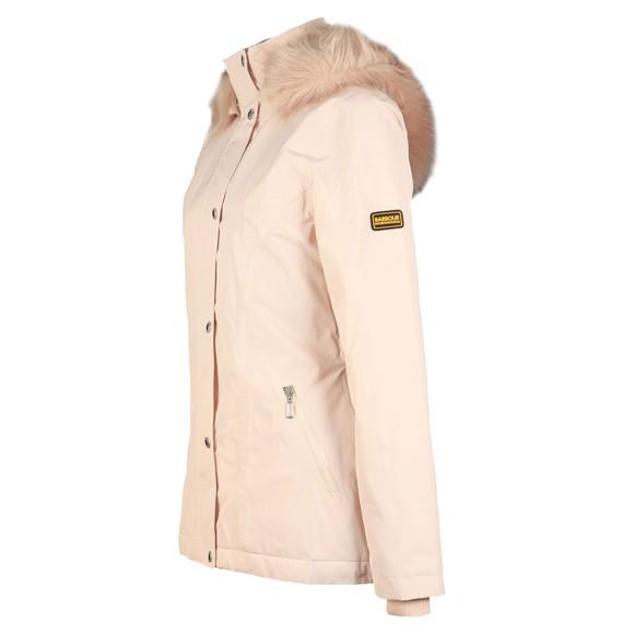 Barbour International Womens White Beemer Jacket main image