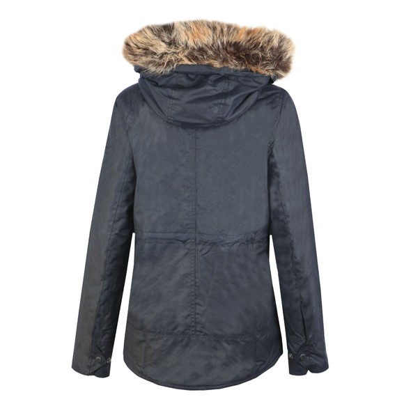 Barbour Lifestyle Womens Blue Scallop Wax Jacket main image