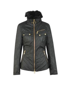 Barbour International Womens Black Ballig Wax Jacket