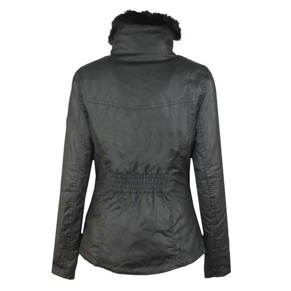 Barbour International Womens Black Ballig Wax Jacket main image