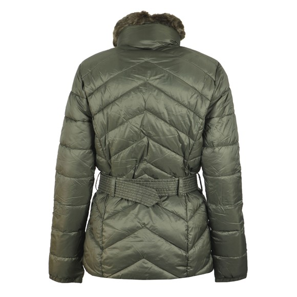 Barbour International Womens Green Circuit Quilt Jacket main image