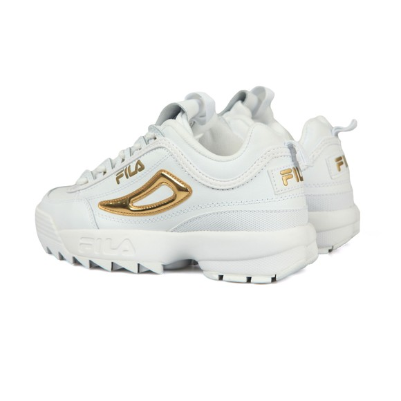 Fila Womens White Disruptor II  Premium Trainer main image