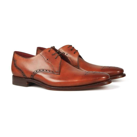 Loake Mens Brown Hannibal Shoe main image