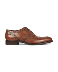 Loake Mens Brown Kerridge Brogue