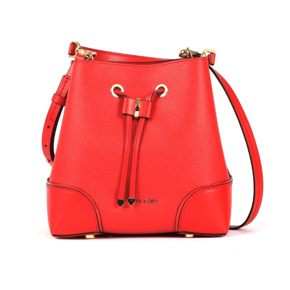 Michael Kors Womens Red Mercer Gallery Bag