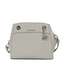 Michael Kors Womens Grey Jet Set Chain Legacy Bag