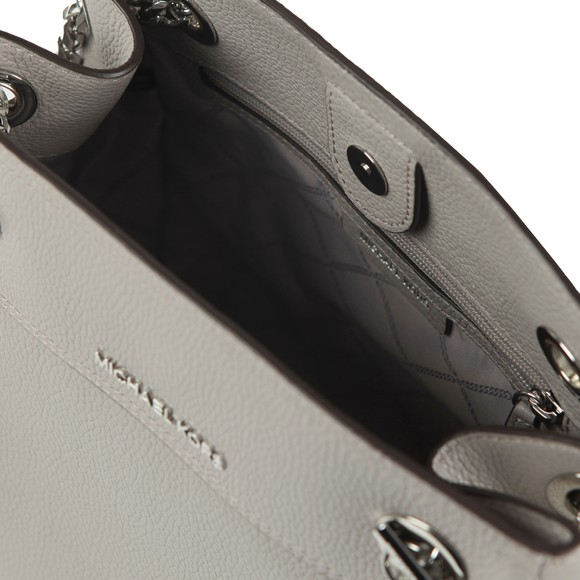 Michael Kors Womens Grey Jet Set Chain Legacy Bag main image