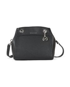 Michael Kors Womens Black Jet Set Chain Legacy Bag