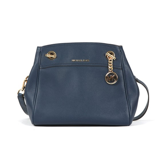 Michael Kors Womens Blue Jet Set Chain Legacy Bag