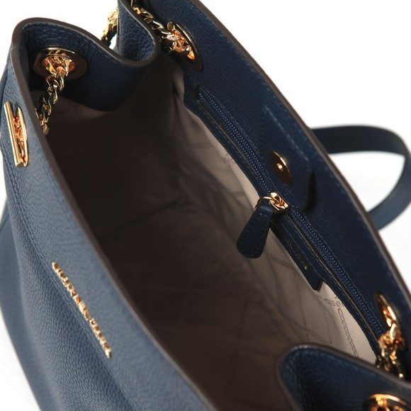 Michael Kors Womens Blue Jet Set Chain Legacy Bag main image