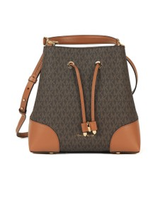 Michael Kors Womens Brown Mercer Gallery Bag