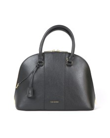 Ted Baker Womens Black Kaitiee Dome Tote Bag