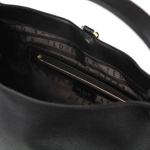 Ted Baker Womens Black Demmi Tassel Bag main image