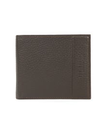 Ted Baker Mens Brown Bifold With Coin Wallet