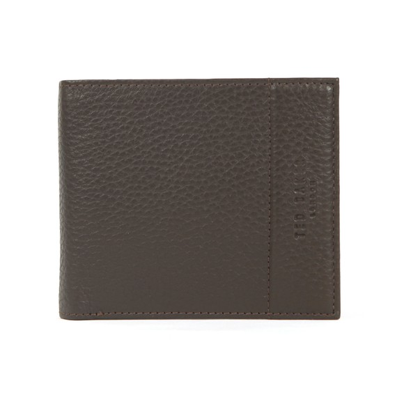 Ted Baker Mens Brown Bifold With Coin Wallet main image