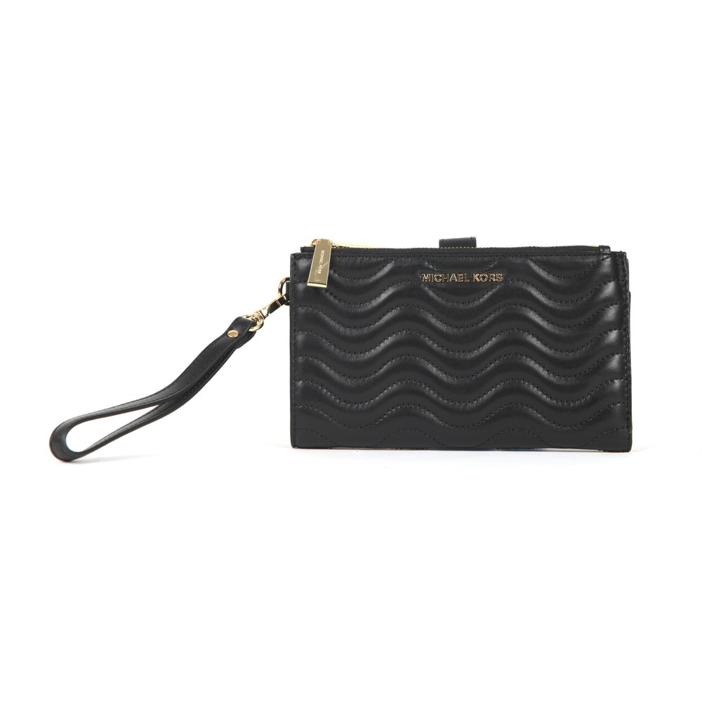 Leather Double Zip Purse (Purses) photo