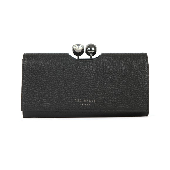 Ted Baker Womens Black Solange Crystal Bobble Purse