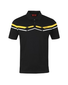 HUGO Mens Black Dapporo Polo Shirt