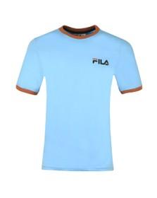 Fila Mens Blue Small Logo Tee
